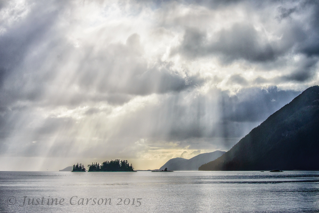 Clearing storm, Prince William Sound, Alaska