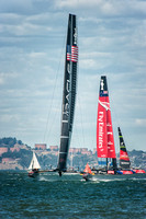 Oracle Team USA heading for finish line
