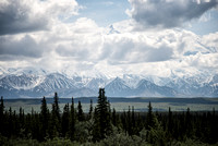 Denali emerges from the clouds