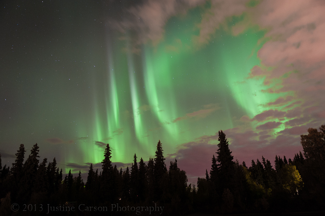 Northern Lights from Fairbanks, Alaska
